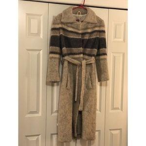 Vintage wool Hilda Ltd. coat from Iceland